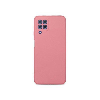 Silicone Case Rosa para Galaxy A22 4G - 99Capas