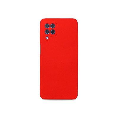 Silicone Case Vermelha para Galaxy M62 - 99Capas