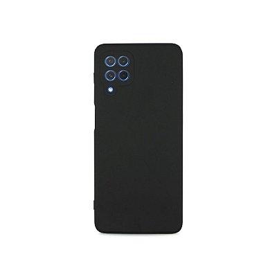 Silicone Case Preta para Galaxy M62 - 99Capas