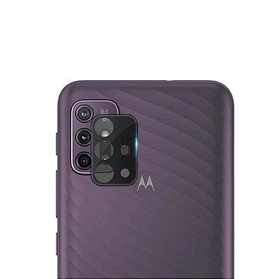 Película 3D de vidro para lente de câmera Moto G30 - 99Capas