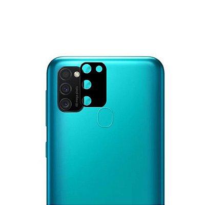 Película 3D de Vidro para lente de câmera para Galaxy M21S - 99Capas