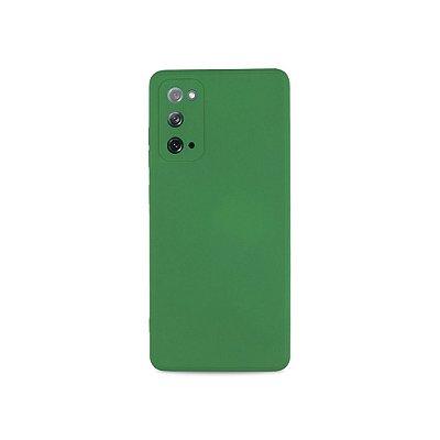 Silicone Case Verde para Galaxy S20 FE