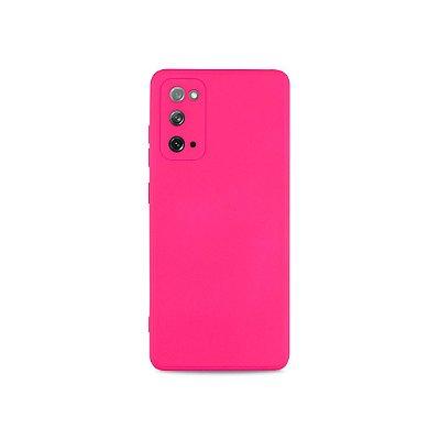Silicone Case Pink para Galaxy S20 FE