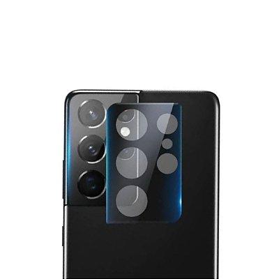 Película 3D de Vidro para lente de câmera para Galaxy S21 Ultra - 99Capas