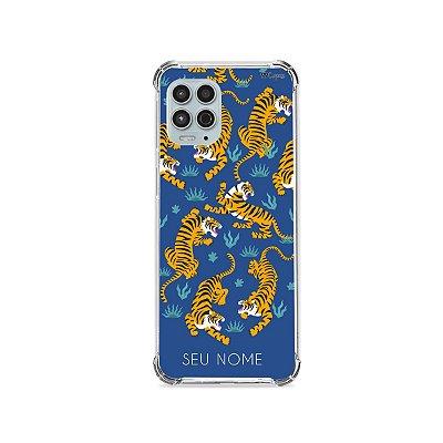 Capinha Blue Tigger com nome para Motorola - 99Capas