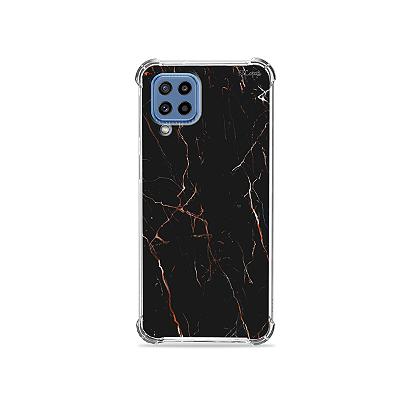 Capa para Galaxy M32 - Marble Black