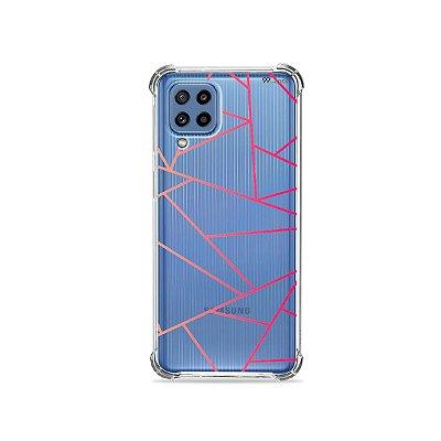 Capa (Transparente) para Galaxy M62 - Abstrata