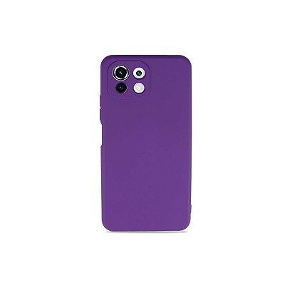 Silicone Case Roxa para Xiomi Mi 11 Lite - 99Capas