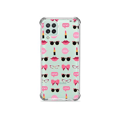 Capinha (transparente) para Galaxy A22 4G - Girls
