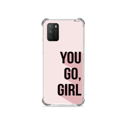 Capinha para Poco M3 - You Go, Girl
