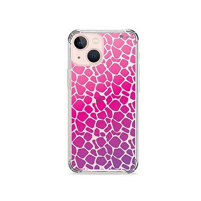 Capa para iPhone 13 -  Animal Print Pink
