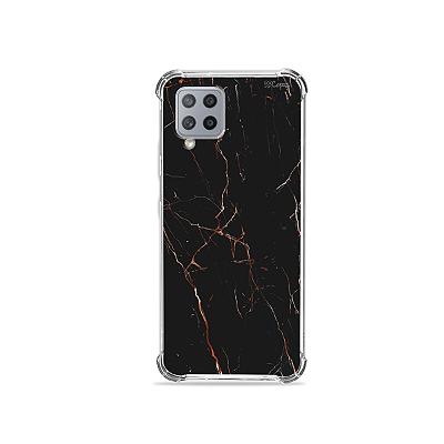 Capa para Galaxy A42 5G - Marble Black