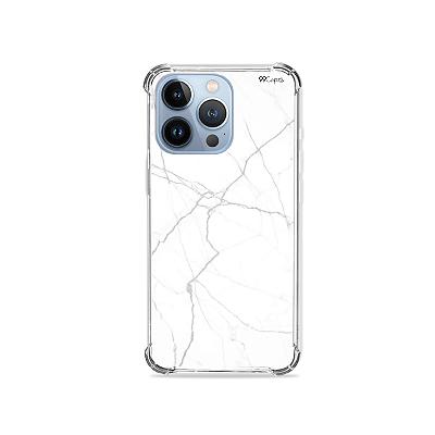 Capa para iPhone 13 Pro Max  - Marble White