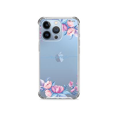 Capa para iPhone 13 Pro - Bromélias