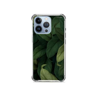 Capa para iPhone 13 Pro - Folhas
