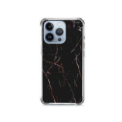 Capa para iPhone 13 Pro - Marble Black