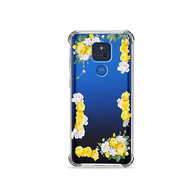 Capa para Moto G Play - Yellow Roses