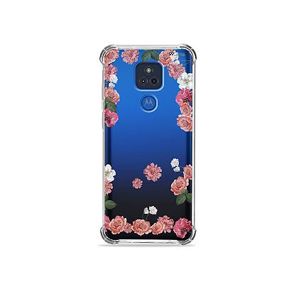 Capa para Moto G Play - Pink Roses