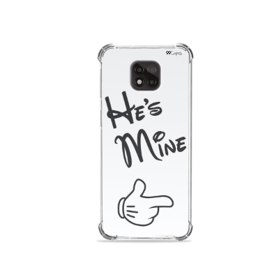Capa para Moto G Power - He's Mine