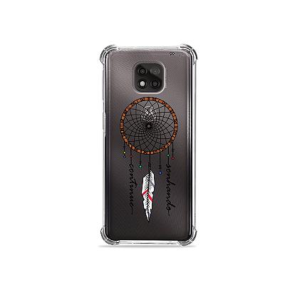Capa para Moto G Power - Filtro dos Sonhos Continue Sonhando