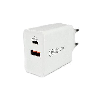 Carregador Fonte Tipo C / USB-C / TYPE - C