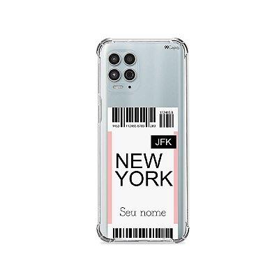 Capinha Ticket com nome para Motorola - 99Capas