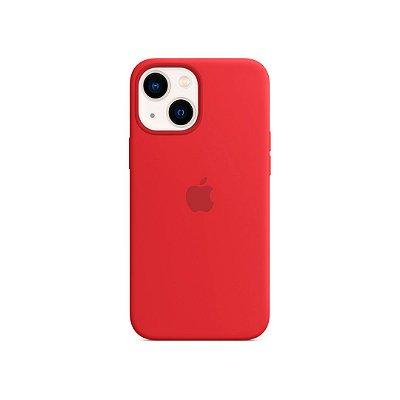 Silicone Case Vermelha para iPhone 13