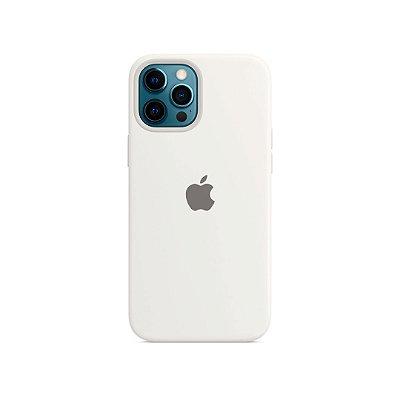 Silicone Case Branca para iPhone 13 Pro