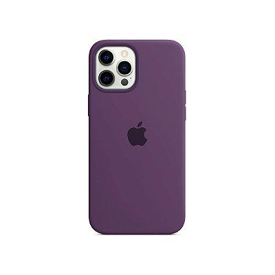 Silicone Case Roxa para iPhone 13 Pro