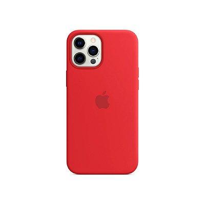 Silicone Case Vermelha para iPhone 13 Pro