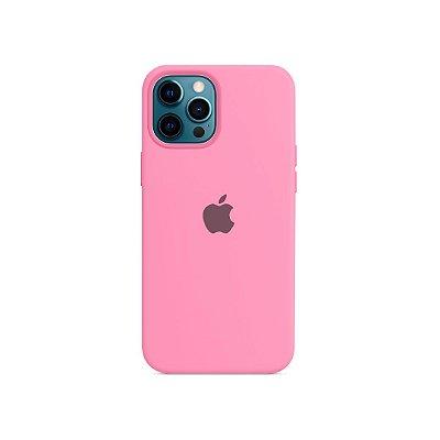 Silicone Case Rosa Claro para iPhone 13 Pro