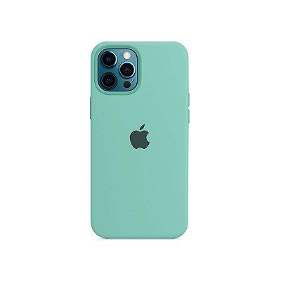 Silicone Case Verde Água para iPhone 13 Pro
