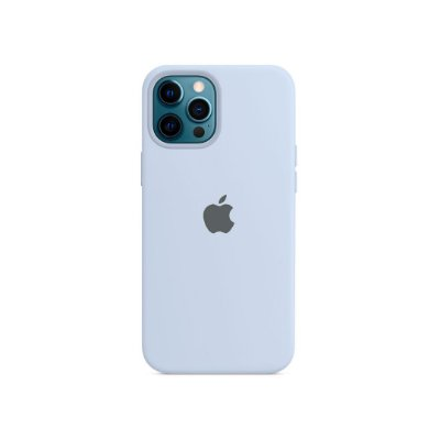 Silicone Case Blue Clear para iPhone 13 Pro
