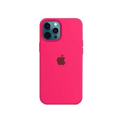 Silicone Case para iPhone 13 Pro - Rosa Neon