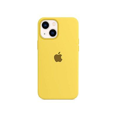 Silicone Case para iPhone 13 - Amarela