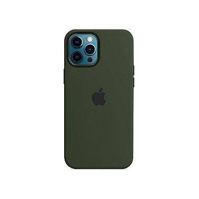 Silicone Case para iPhone 13 Pro - Verde Cacto
