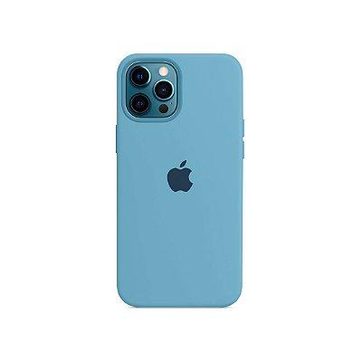Silicone Case para iPhone 13 Pro - Azul Claro