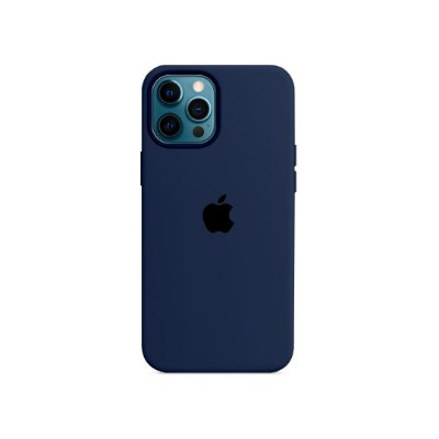 Silicone Case para iPhone 13 Pro - Azul Marinho