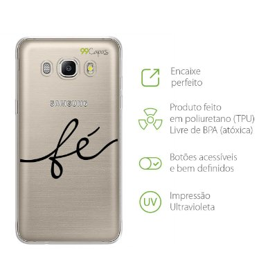 Capa para Galaxy J7 Metal - Fé