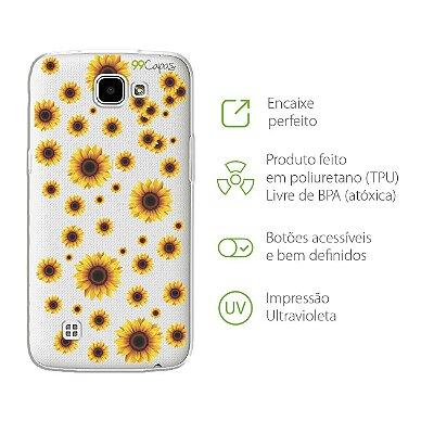 Capa para LG K4 - Girassóis