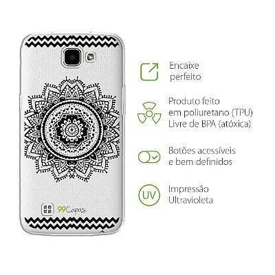 Capa para LG K4 - Mandala Preta