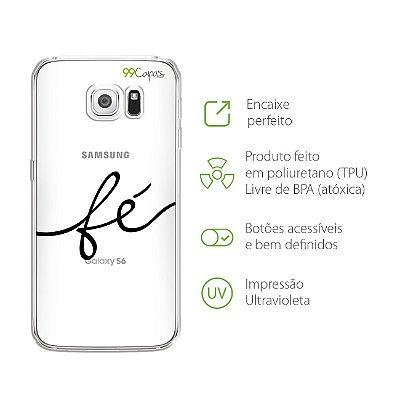 Capa para Galaxy S6 Edge - Fé