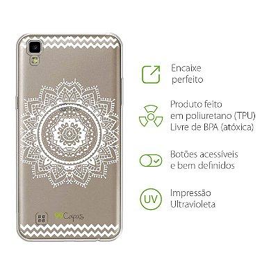 Capa para LG X Power - Mandala Branca