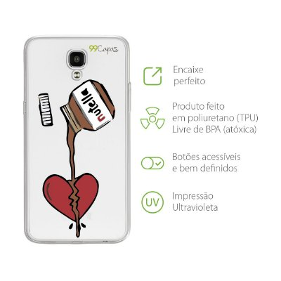 Capa para LG X Screen - Nutella