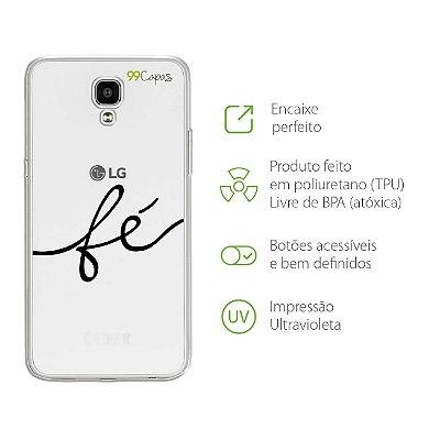 Capa para LG X Screen - Fé