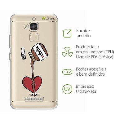 Capa para Zenfone 3 Max - 5.2 Polegadas - Nutella