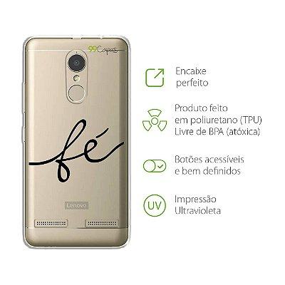 Capa para Lenovo Vibe K6 Plus - Fé