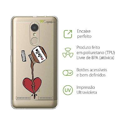 Capa para Lenovo K6 - Nutella