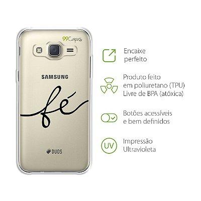 Capa para Galaxy J2 Prime - Fé
