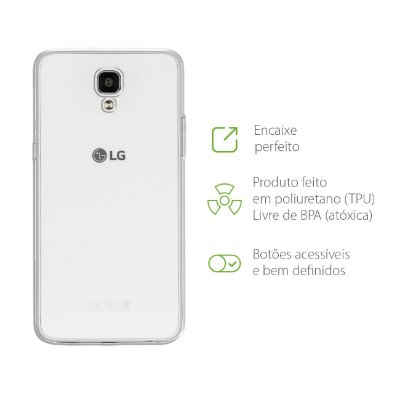 Capa Transparente para LG X Screen